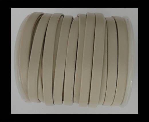 Cuir plat nappa éco - 5mm - Beige