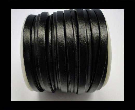 Nappa Flat PU -Black -5mm