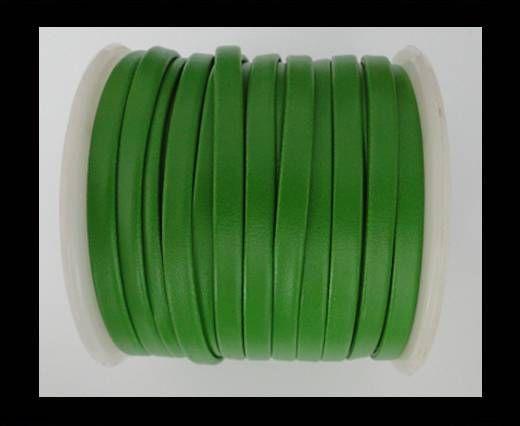 Cuir plat nappa éco - 5mm - Vert