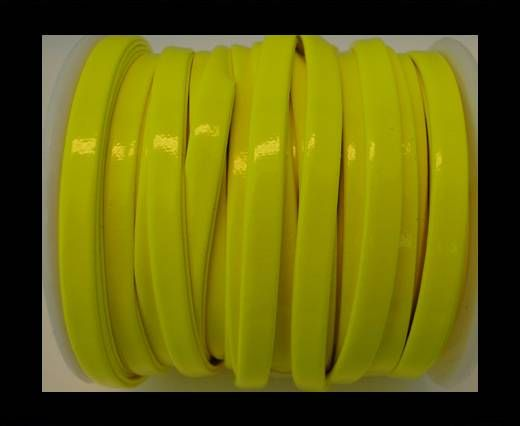 Nappa Flat PU -Neon Yellow-5mm