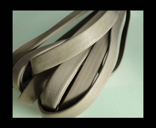 Nappa Leather Flat-Dark Beige-10mm
