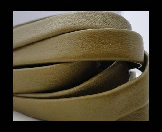 Nappa Leather Flat-Pistachio Green-10mm