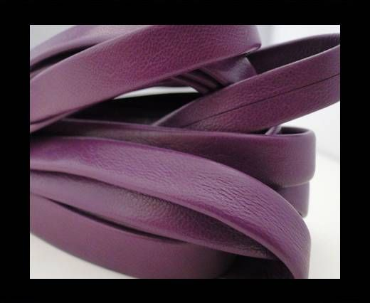 Nappa Leather Flat-Violet-10mm