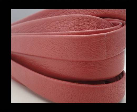 Nappa Leather Flat-Washed Red-10mm