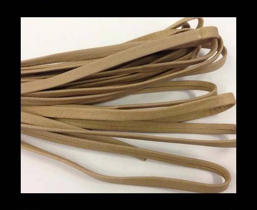 Nappa Leather Flat -beige -5mm