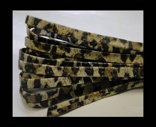 Nappa Leather Flat -5mm-print leopard