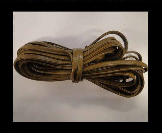 Cuir Nappa - Sewn - 7mm - Kaki