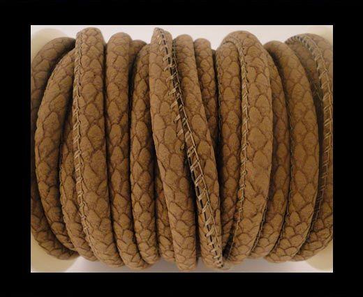 Cuir Nappa - 4mm - Snake Style - Spot - Peru