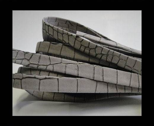 nappa snake style grey 10 mm