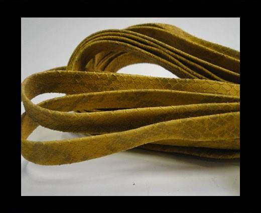 nappa snake style ocher  10 mm