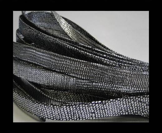 nappa snake style silver 10 mm