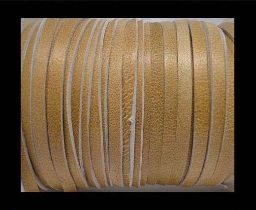 Cuir Nappa plat - 5mm - Beige