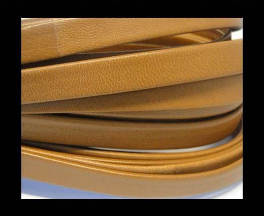 Cuir Nappa plat - 10mm - Marron clair