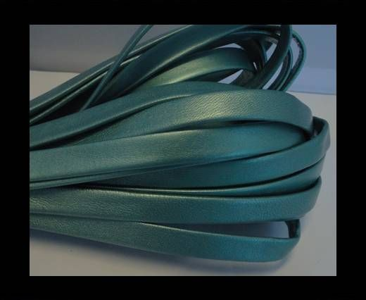 NappaFlat-Metallic Sea Blue-10mm