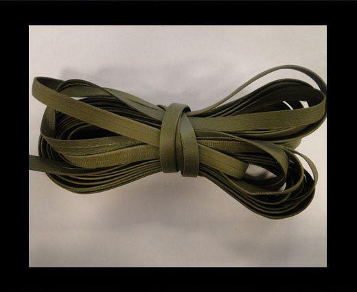 Cuir Nappa plat - 10mm - Olive