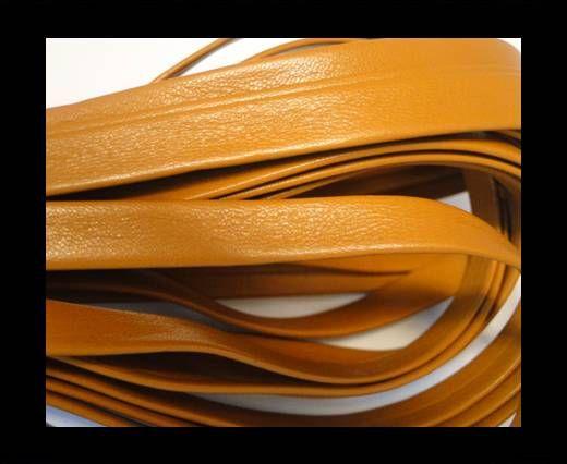 Cuir Nappa plat - 10mm - Orange