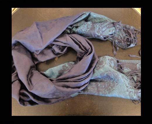 Pashmina Shawl-Style1-Dark Purple