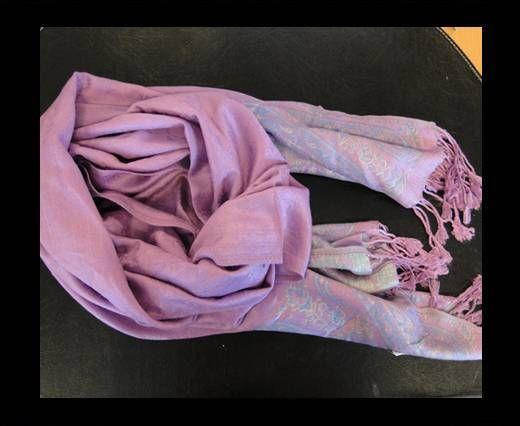 Pashmina Shawl-Style2-Purple