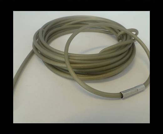 PVC-Round-2mm-Light Grey