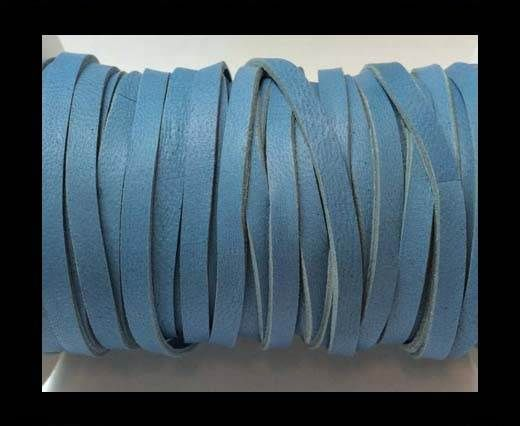 Real Nappa Leather-Double Cut-5mm-Blue Sky