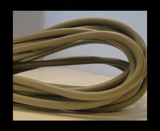 Real Nappa Round-Natural Grey-4mm