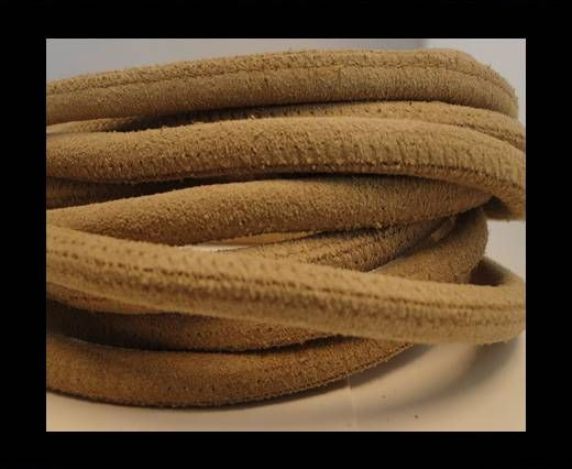 Real Nappa Suede Round-Cream -6mm