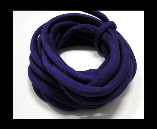 Real silk cords with inserts - 4 mm - Gloxinia