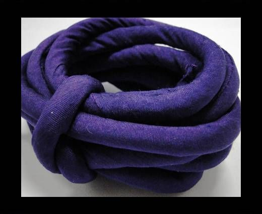 Real silk cords with inserts - 8 mm - Gloxinia