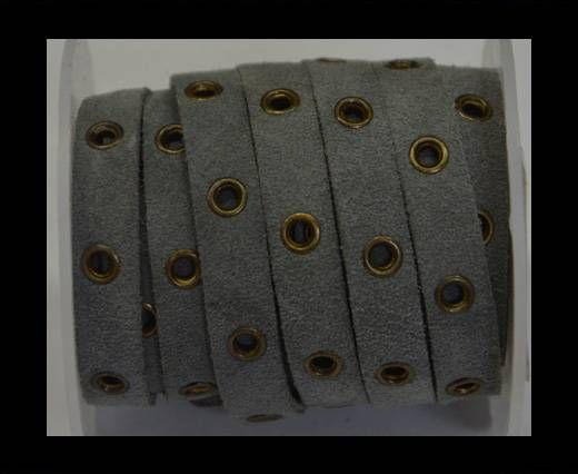 Real Suede Leather with Rivet -SE/SHR/17-10mm