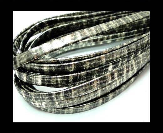 RNL-Flat folden renforced-5mm Snake patch style gold grey