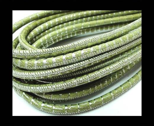 RNL Round strobel-4mm-Lizard Green