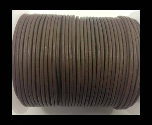 Round Leather Cord-1,5mm-taupe