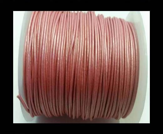 Round Leather Cord -1mm- SE M.Pink