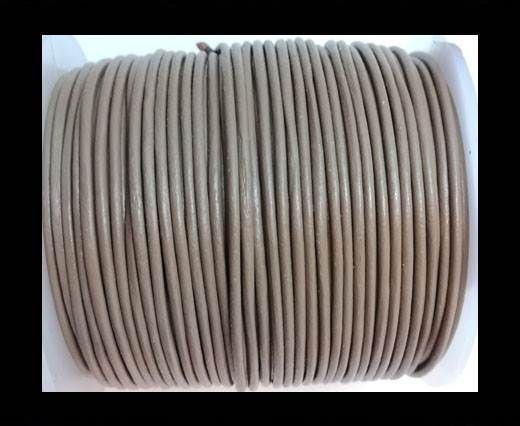 Round Leather Cord-1,5mm-plain-TAUPE