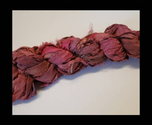 Sari Silk Ribbons-Pink