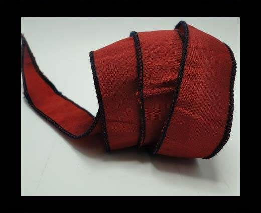 SC-Silk-Taper-1-Red and Black-2,5cms