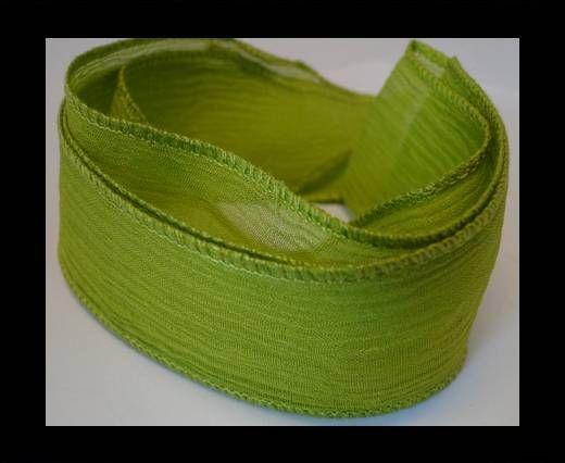 SC- Bande de soie - Light Green