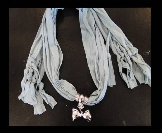 Scarf With Beads Style6-Beige