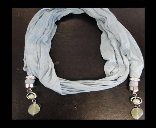 Scarf With Beads Style11-Beige