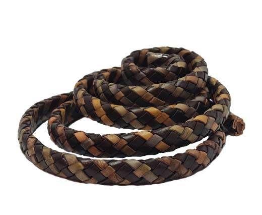 Oval Regaliz braided cords-SE-PB-55