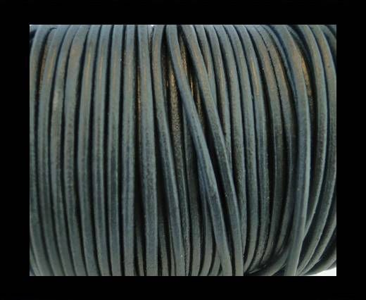 Cordon de cuir SE/R/Dark Grey - 2mm