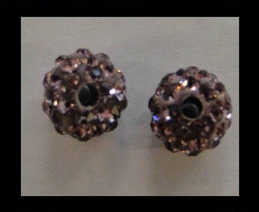 Perle Shamballa - 10mm - Tanzanite