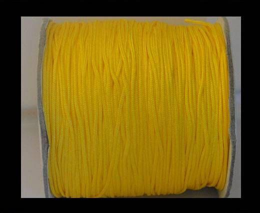 Corde Shamballa - 1mm - Jaune