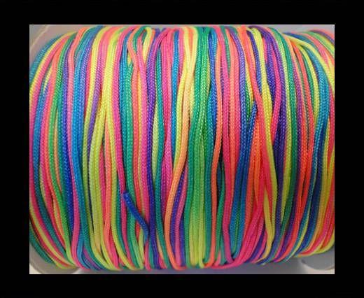 Corde Shamballa - 1mm - Multicolore