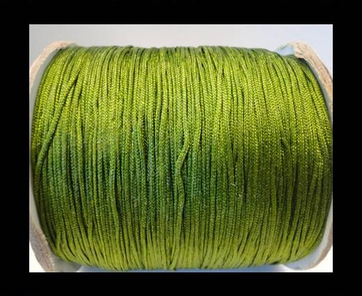 Corde Shamballa - 1mm - Vert olive