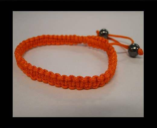 Bracelet simple Shamballa SB - Orange