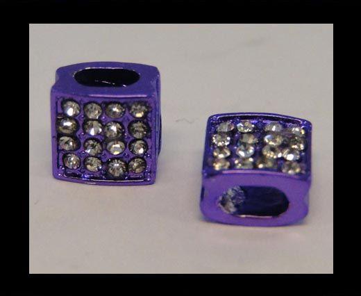 Perle Shamballa Slider - 4344 - Violet