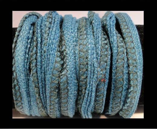 Coton de soie - 18 - Bleu