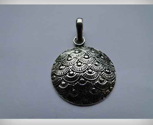 Silver Plated Pendals SE-1467