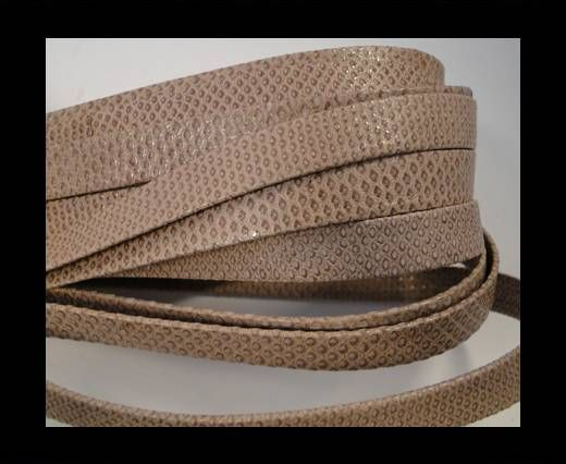 Snake Leather Cords-Flat-N7-10MM